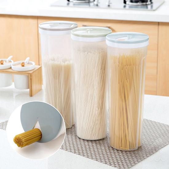 旋轉式加蓋儲物罐 收納罐 置物 食品 麵條 五穀 雜糧 白米 保鮮 廚房【X025】慢思行