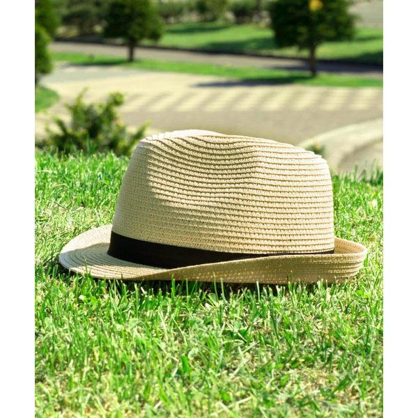 編織草帽 可折疊休閒草帽 5色 ZIP FIVE