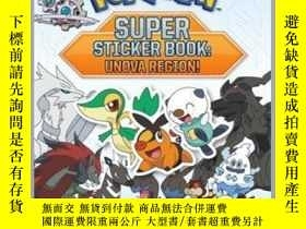 二手書博民逛書店Pokémon罕見Super Sticker Book: Unova Region!Y410016 . Pik