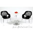 {{ 海中天休閒傢俱廣場 }}摩登時尚 國際名椅 造型師必備 A148-3 造型吧台桌(一桌二椅)
