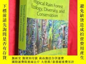 二手書博民逛書店Tropical罕見Rain Forest Ecology, D