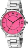 MARC JACOBS MJ3524 女士款 手錶 精品錶 石英錶 銀鋼帶 桃紅錶盤