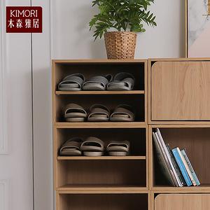 【木森雅居】KIMORI S-Cabinet可堆疊層板櫃/收納櫃楓木色款