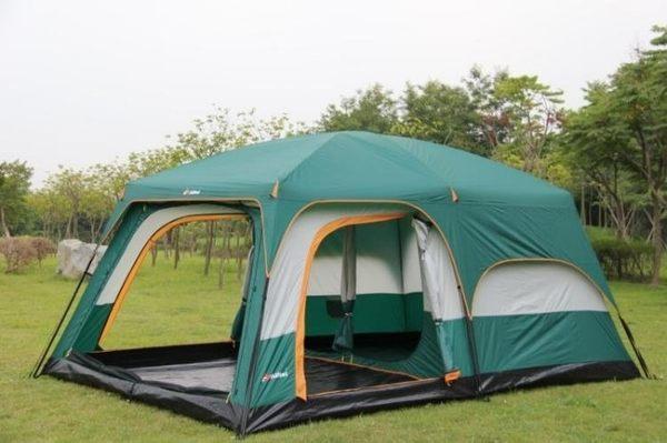 帳篷戶外野營6人以上二室一廳休閑露營【藍星居家】