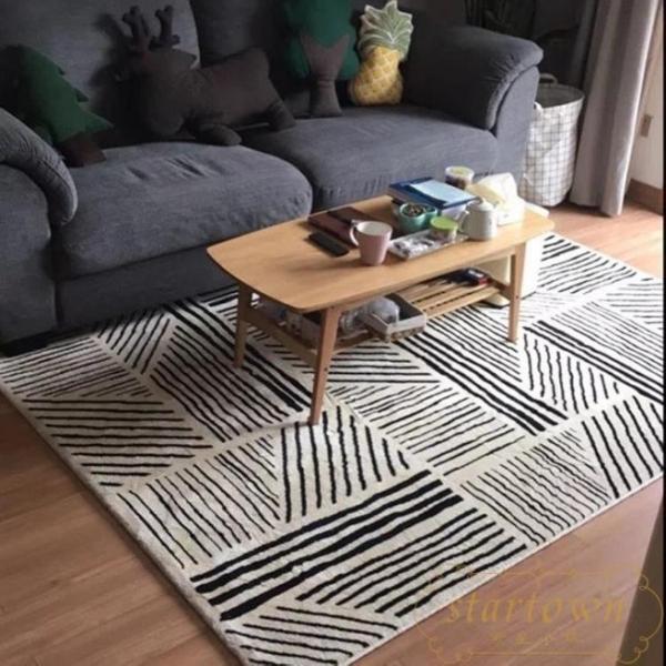130*180cm地毯客廳沙發茶幾臥室可愛房間床邊北歐【繁星小鎮】