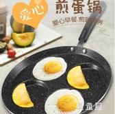 麥飯石煎雞蛋鍋小平底早餐 模具蛋餃餅荷包蛋神器家用不粘鍋 BT9655『優童屋』