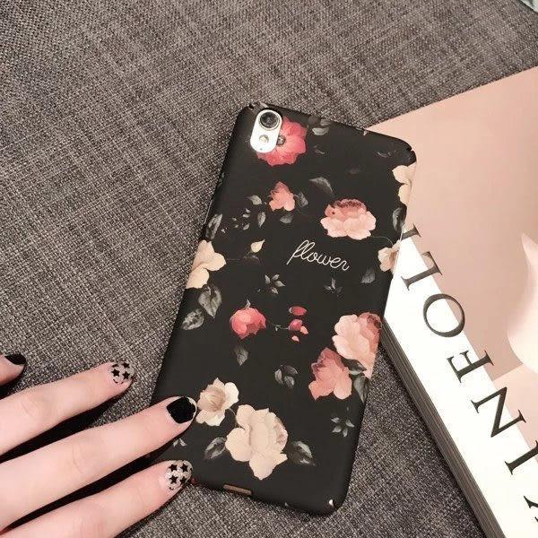 OPPO R9s R9s Plus R9 R9 Plus 復古花朵 手機殼 全包硬殼 硬殼 保護殼 玫瑰花 殼