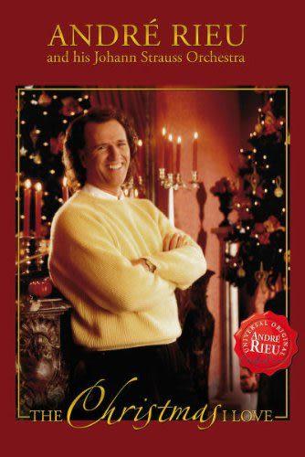 安德烈瑞歐 我愛聖誕 DVD Andre Rieu / The Christmas I Love (音樂影片購)