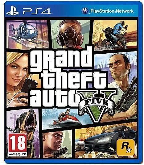 PS4遊戲 俠盜獵車手 5-亞洲中文版 GTA 5