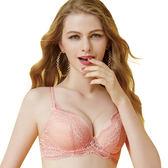思薇爾-啵時尚系列A-E罩模杯蕾絲包覆內衣(香檳粉)