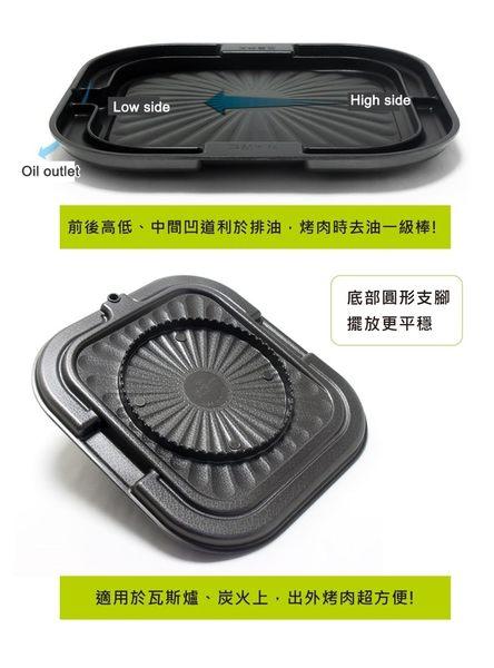 LEHE HOME 韓國 原裝 鑄造 排油煎蛋 萬用烤盤 30cm◎花町愛漂亮◎AB