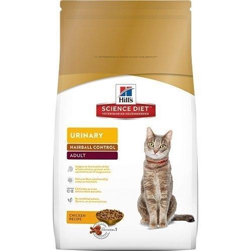『寵喵樂旗艦店』希爾思Hills-成貓1-6歲毛球控制(雞肉)3.5磅【10135】