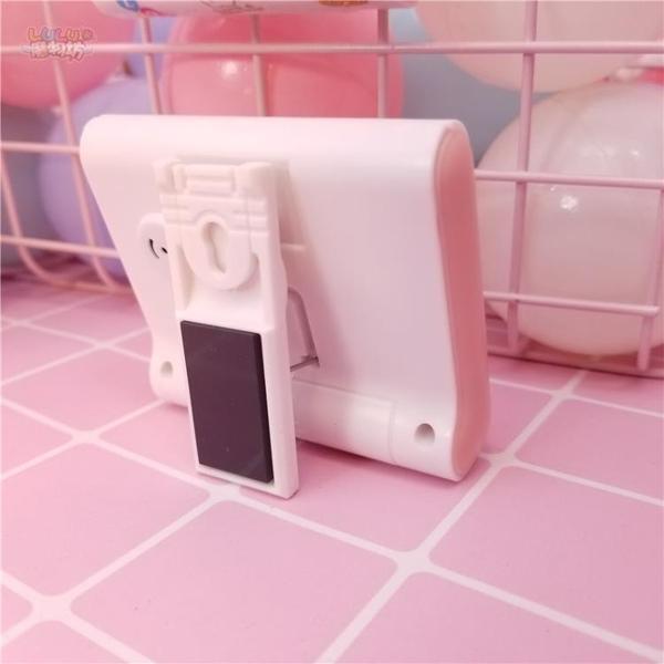 鬧鐘粉色可愛迷你鬧鐘電子計時器電子鬧鐘表台鐘看時間桌面道具擺件【快速出貨八折搶購】