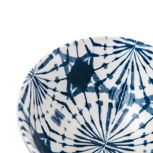渲染藍韻飯碗11.5cm 蒲公英