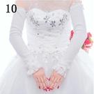 新娘婚紗手套加絨冬季婚禮結婚...