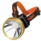 夜釣魚頭燈強光充電超亮頭戴式疝氣超長續航手電筒礦燈輕小號專用 「限時免運」