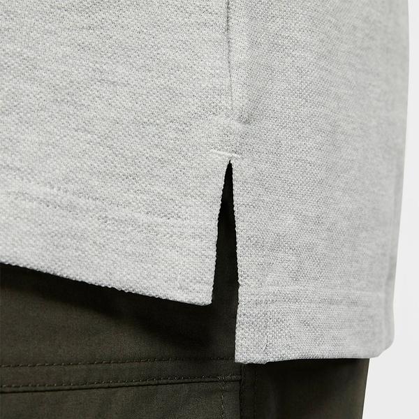 【現貨】NIKE NSW SEC POLO 男裝 短袖 休閒 POLO 刺繡 灰【運動世界】CJ4457-063