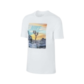 Nike 短袖T恤 NSW Tee 白 彩色 男款 短T 日落 運動休閒 【ACS】 CT6885-100