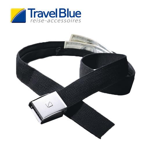 英國Travel Blue藍旅 防盜皮帶TB-710 露營│登山│戶外│旅遊│出國│休閒皮帶