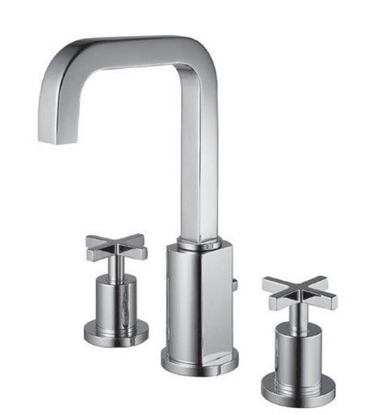 【麗室衛浴】客戶變更便宜出清 美標 American Standard  CUBE系列 三件式面盆龍頭