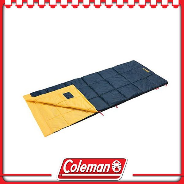 【Coleman 美國 表演者III睡袋《黃/C10》】34775/可水洗/戶外/登山/露營用品/舒適睡墊