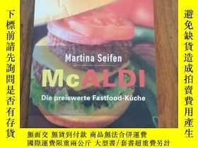 二手書博民逛書店McALDI.罕見Die preiswerte Fastfood