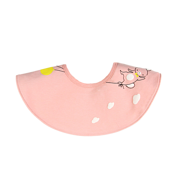 MuslinTree嬰兒口水巾360度圓形防水圍兜-JoyBaby