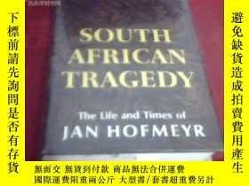 二手書博民逛書店South罕見African tragedy: the life