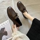 平底單鞋女2020春秋季新款JK鞋百搭樂福鞋復古低跟英倫風小皮鞋女 【端午節特惠】