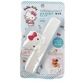 小禮堂 Hello Kitty 造型塑膠磁鐵夾 文件夾 菜單夾 文具夾 便條夾 銅板小物 (白 大臉) 4573135-58926