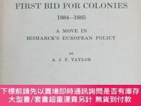 二手書博民逛書店英文原版:GERMANY S FIRST罕見BID FOR COLON IES 1884-1885Y367