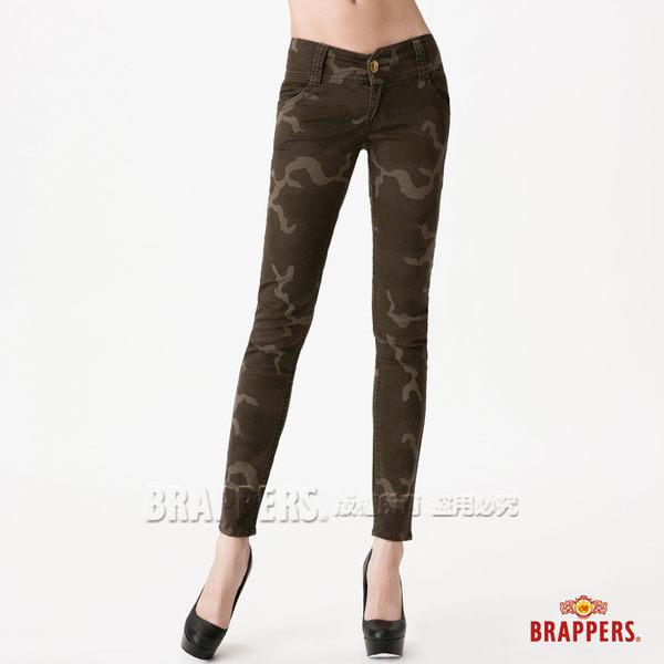 BRAPPERS 女款 新美尻 系列-女用彈性迷彩九分褲