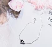 手鍊-s925銀愛心手鍊女韓版小清新雙層心形甜美層次少女心手飾 東川崎町