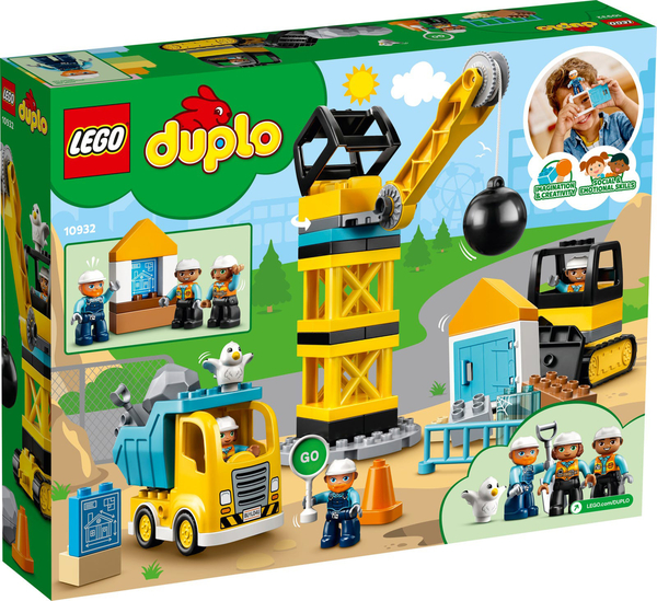 【愛吾兒】LEGO 樂高 duplo得寶系列 10932 施工現場組
