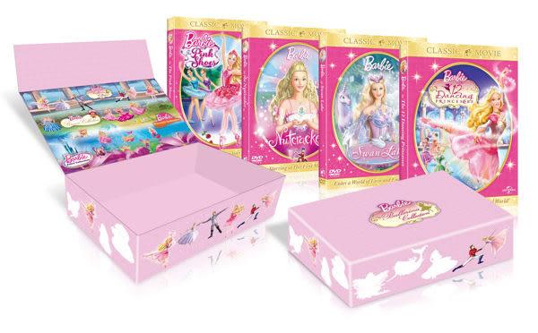 芭比芭蕾公主合輯 DVD  (購潮8) 4719850189365
