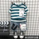 童裝男童夏裝套裝新款洋氣韓版小兒童夏季寶寶短袖兩件套潮衣 完美居家