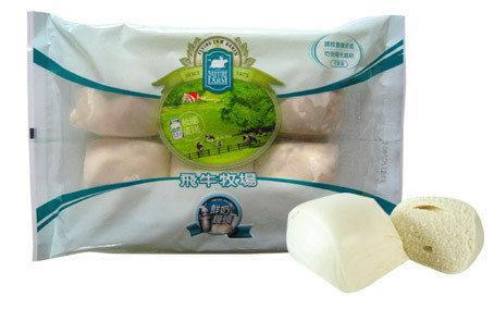 【飛牛牧場.牛奶生活館.鮮奶饅頭】100%鮮奶濃純香 2包220元更優惠