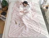 睡袋 隔臟睡袋成人賓館臥鋪出差旅游單雙人便攜式防臟床單純棉igo 唯伊時尚