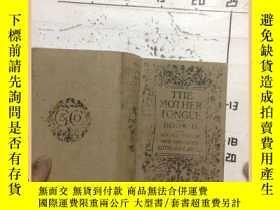 二手書博民逛書店the罕見mothfr tongue book II 莫特爾舌書