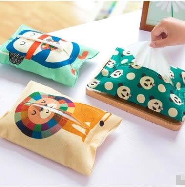 預購- 可愛圖案布藝棉麻紙巾套