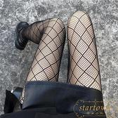 網格絲襪女蕾絲連褲襪長襪子超薄款漁網襪可愛【繁星小鎮】