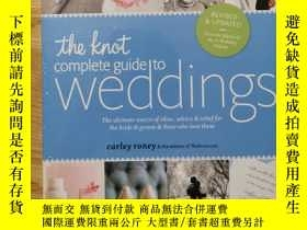 二手書博民逛書店The罕見knot: complete guide to wed