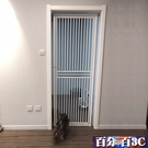 寵物圍欄 免打孔加高全封閉寵物貓咪中大型犬狗狗門欄圍欄柵欄防桿定制 WJ百分百