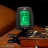卡馬調音器原裝民謠吉他調音器尤克里里通用古典電吉它校音器