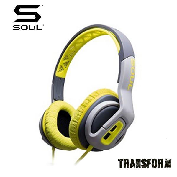 SOUL TRANSFORM 運動頂級性能頭戴式耳機 舒適配戴耳罩式