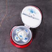 旅行便攜式茶具套裝戶外家用陶瓷迷你版 st404『寶貝兒童裝』