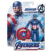 《 MARVEL 》漫威 復仇者聯盟四6吋人物組 - 美國隊長╭★ JOYBUS玩具百貨