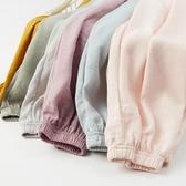 夏季冰絲棉綢兒童防蚊褲薄款女童男童超薄夏裝小孩寶寶長褲子小童 交換禮物