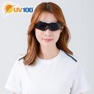 UV100 防曬 抗UV UV400太陽眼鏡-流線半框