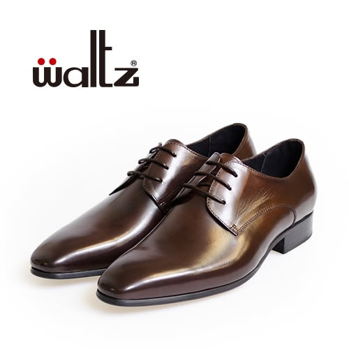 Waltz-素面經典簡約德比鞋212172-03(深咖)